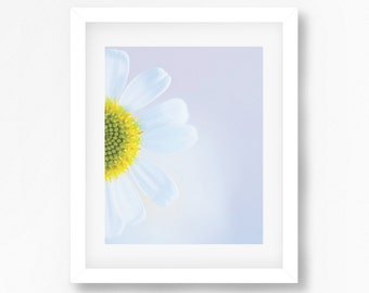 Floral Print Daisy Art Daisy Print Floral Art Print Home Decor Printable Art Floral Wall Art Instant Download Flower Print Flower Art