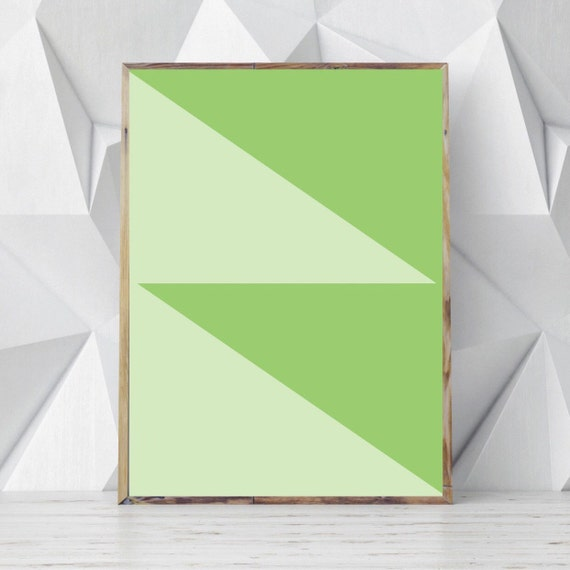 Minimalist geometric wall art minimalist geometric by for Modern minimalist wall art