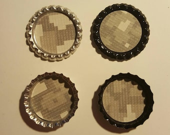 Army inspired magnets, set of 4