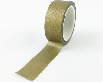 Solid Gold Washi Tape // 15mm // Paper Tape // BBB Crafting Supplies // CR-W-L093
