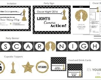 Oscar Awards Party Printables