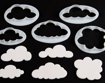 FMM Fluffly Cloud Cutter: Set of 5