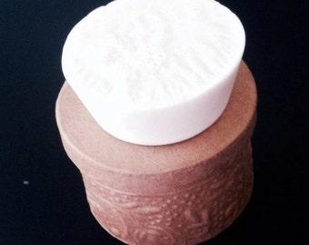 Unscented Goats Milk Soap, Plain Bars of Soap, Circular Soap, Goats Milk Soaps, Made to Order Soaps