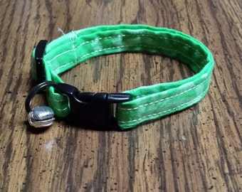 Cat Collar Lime Green