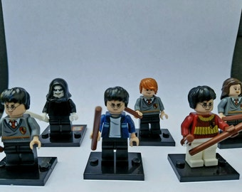 Harry Potter Minifigure X-Ray Markers (Please Leave only Two Initials In the Comment Box)