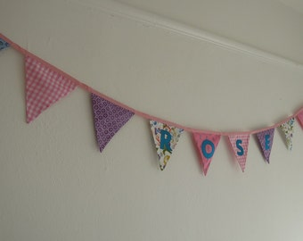 Personalised Bunting/ Banner for Girl