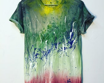 One and Only! Original Hand Painted Shirt