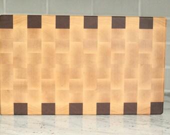 walnut edge grain cutting board. Black Bedroom Furniture Sets. Home Design Ideas
