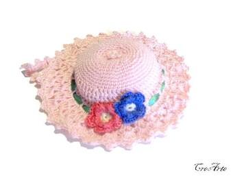 Crochet Pincushion, Pink Pincushion, Handmade Pincushion, Puntaspilli (Cod. 61)