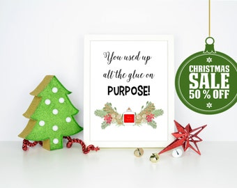 50% OFF - A Christmas Story Quote- INSTANT DOWNLOAD - Printable 8x10