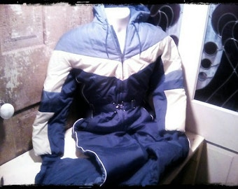 Vintage 1970's Montgomery Wards Ski Suit Size Medium.