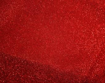 Red Metalic Fabric