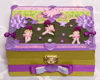The ballerinas, baby shower, newborn baby, mother-to-be, layer, baby, baby, decorative box accessories, Doggie clothing