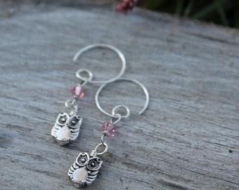 Dainty Owls Earrings