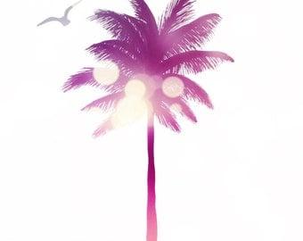 Summer Lovin Palm Tree