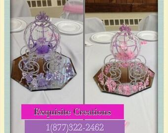 Cinderella  Carriage Centerpiece