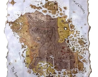 Morrowind Collector's Map