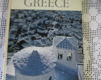 Vintage Book English Greece / Vintage English Book Greece