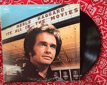 Popular Items For Merle Haggard On Etsy