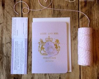 Passport Wedding Invitation, Passport Invitation, Destination Wedding Invitation, Destination Wedding, Wedding Stationery, Travel wedding