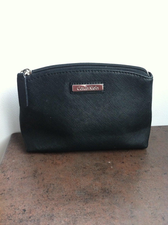 Vintage Carry Bag Calvin Klein Cosmetic Case Designer