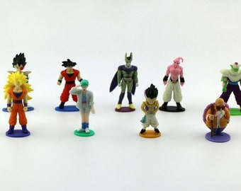 9 pc Dragon Ball Z Theme Party Favors Cake Toppers