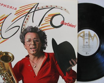 "GATO BARBIERI ~ 1979 ""Euphoria"" Mint Condition vinyl LP"
