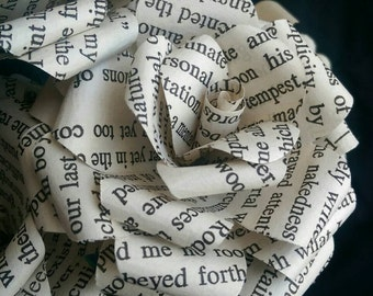 Edgar Allan Poe Book Bouquet-Book lover gift-Book Bouquet-Book decor- Unique Gift- Bridal Bouquet- Paper Roses-Wedding- valentines