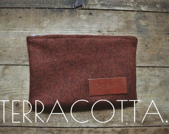 The Utility Pouch - TERRACOTTA.