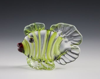 Green Fish Figurine