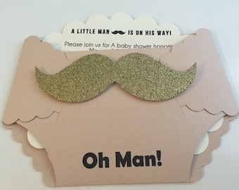 Little Man baby shower package