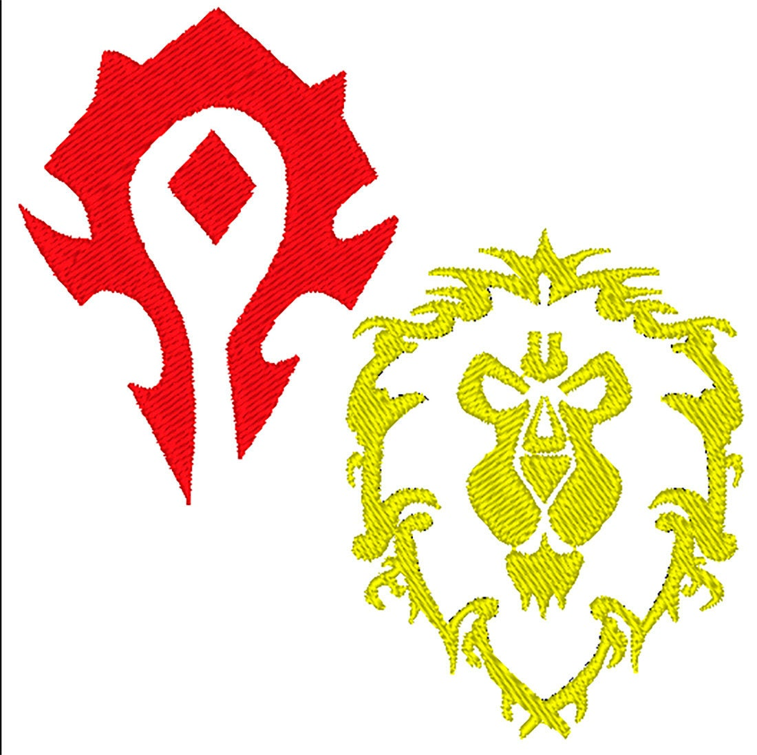 Alliance symbol of world of warcraft machine embroidery design this is a digital file biocorpaavc