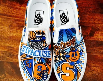 Customized Vans Sneakers (College, Sports, etc.)