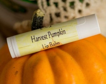 Harvest Pumpkin Lip Balm