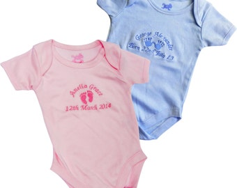 Personalised Baby Vest/Baby Grow