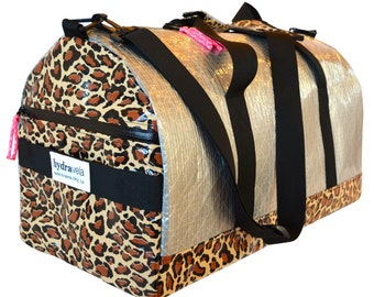 Technautical Duffel Bag - Leopard Print
