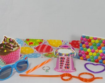 Candyland Sweet Shoppe Party Favors