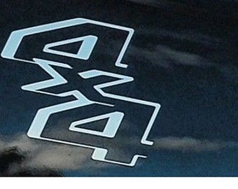 2-4x4 Truck Bed Decals, fits Ford Super Duty, F-250 Multiple colors, free shipping