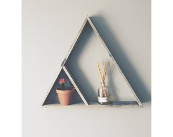 Reclaimed Wood Large Triangle
