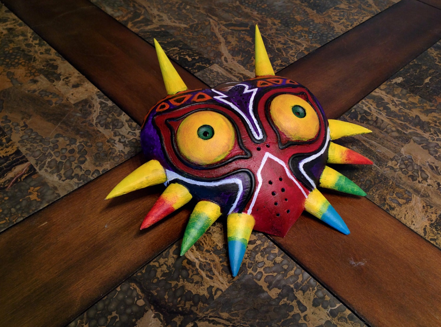 Majora's Mask Replica 3D-printed Hand-painted Cosplay