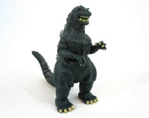 Vintage PVC Godzilla 4 Inch Figure. Toho Co. / Trendmasters. Circa 1994.