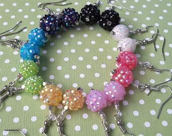 Sparkle Berry Earrings