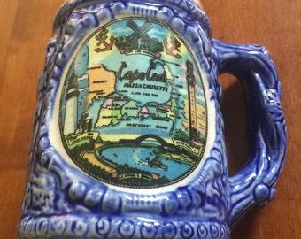 Coffee Mug Cape Cod Massachusetts Vintage Souvenir