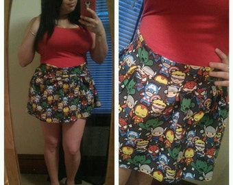 Superhero skirt