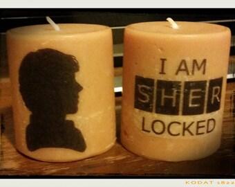 Sherlock Decorative Candles