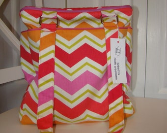 Bright and Happy Insulated Tote