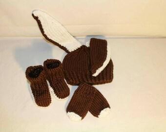 Funny bunny baby set