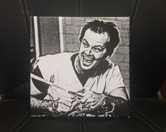 Jack Nicholson One Flew Over the Cuckoo's Nest Canvas - Various Sizes