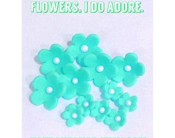 Fondant Flower Blossoms - 36