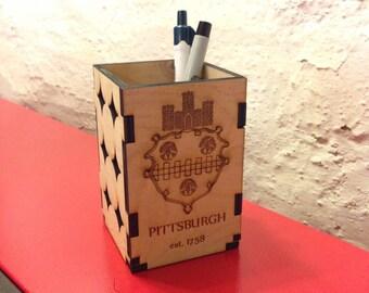 Pittsburgh Pencil Box